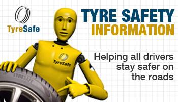 tyre safety information banner